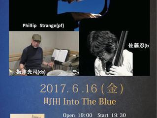 Phillip Strange Trio 6月16日(金)
