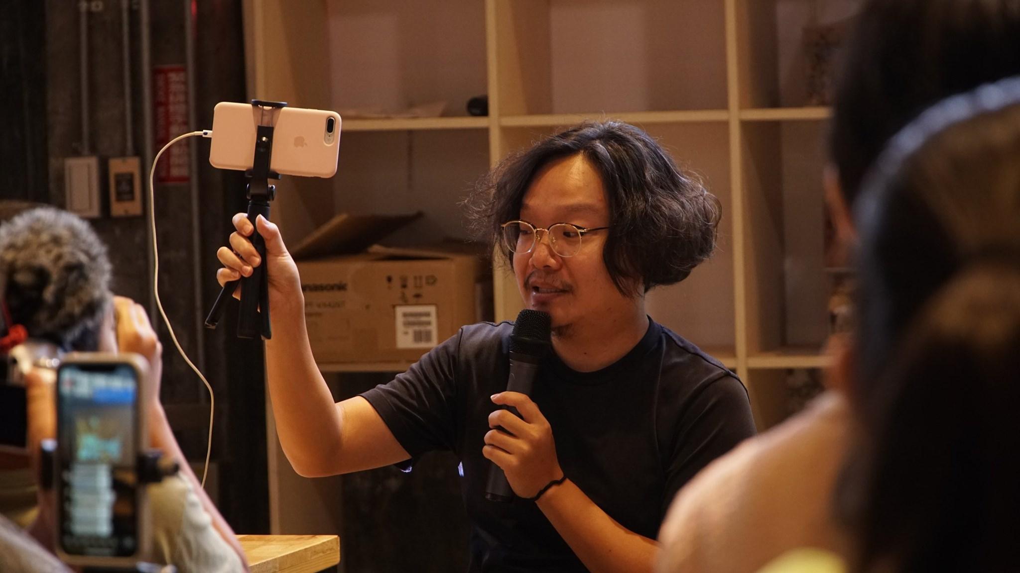 「影像興樂園」陪伴導演工作