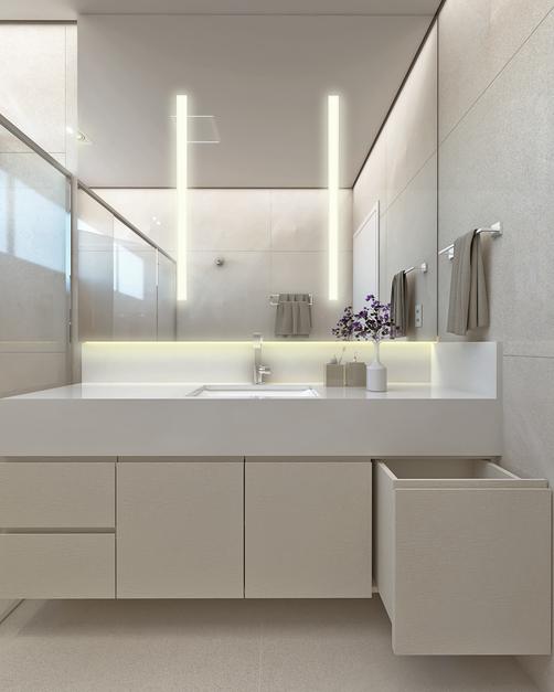 Banheiro Suíte - Alphaville