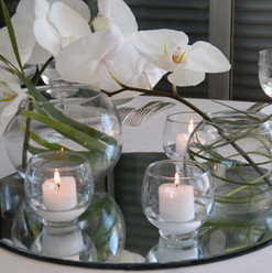 Des orchidées pour un mariage très formel