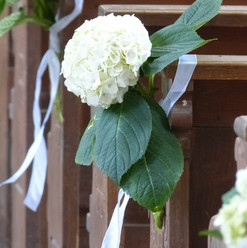 Fleurs et rubans