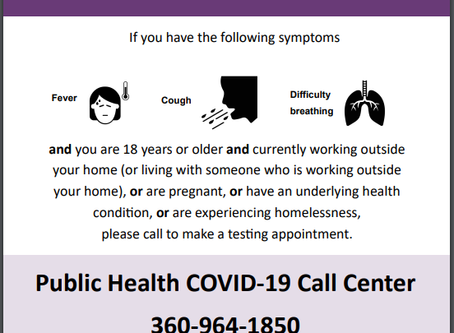 Grays Harbor Offers Free COVID-19 Testing