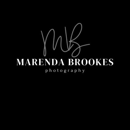 marenda brookes white letters on black b