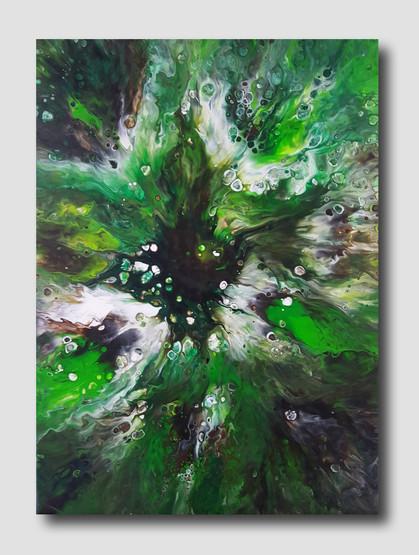 50-70 canvas Gaia's Love