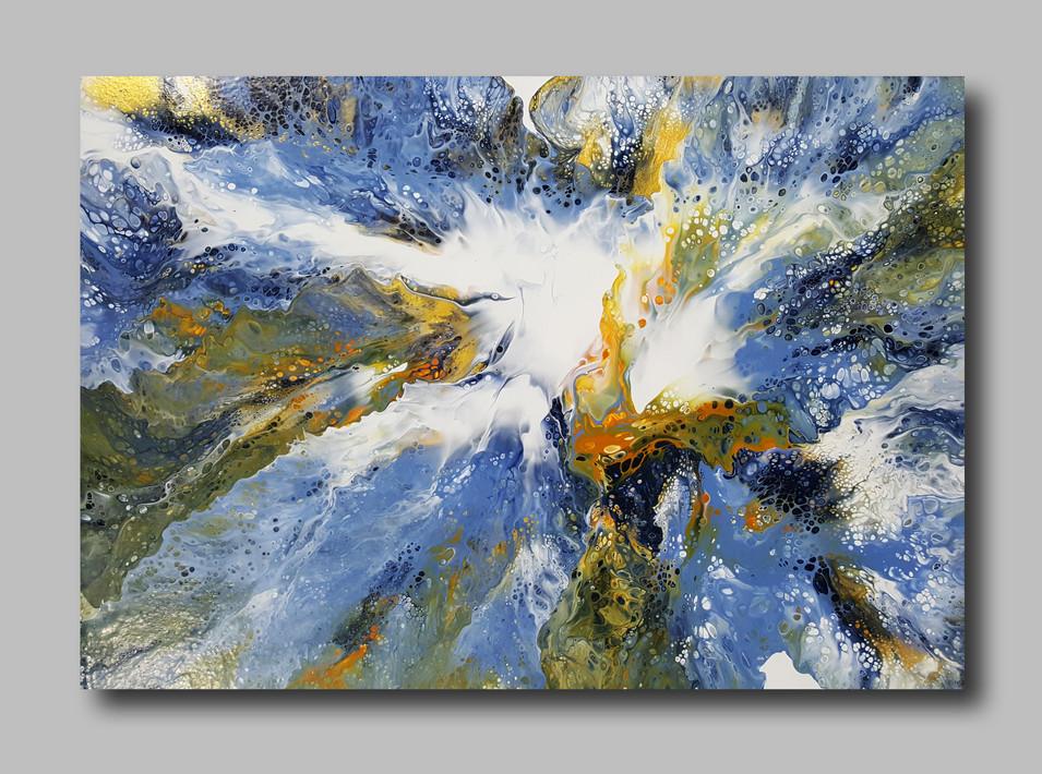 70-50 canvas The Birth of Light