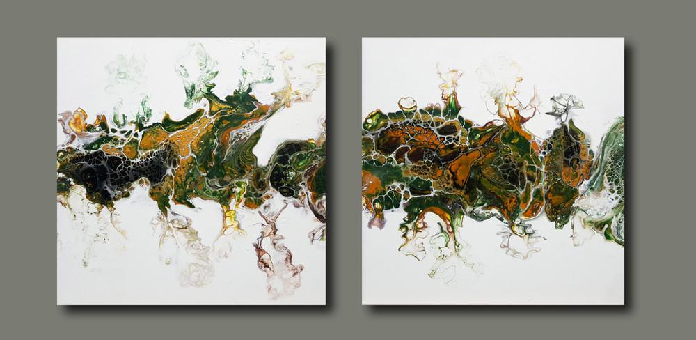45-45 canvas Elves Dance in Autumn