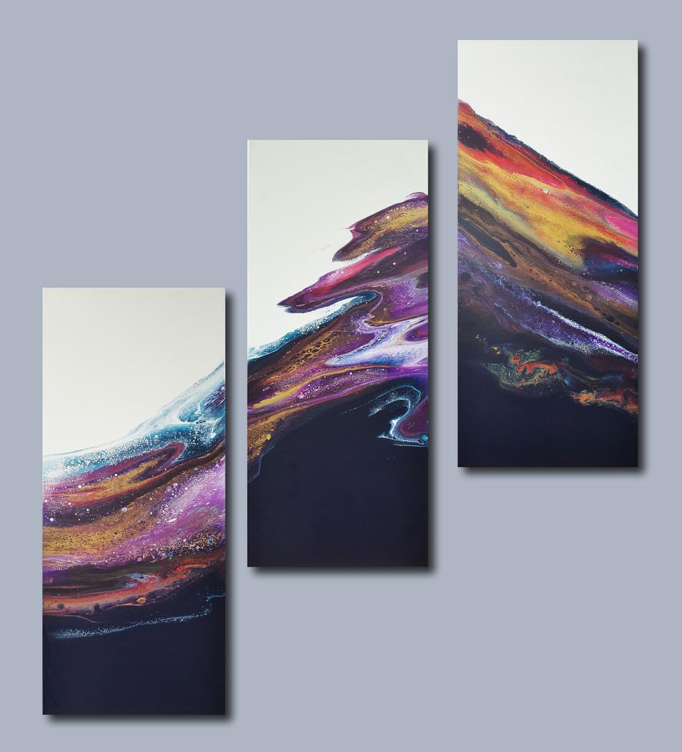 30-70 canvas The Waving Dreams