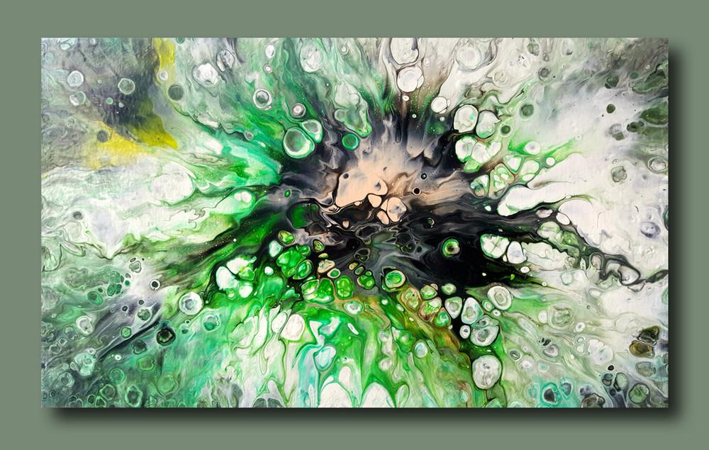 5 canvas The Lucky Shamrock
