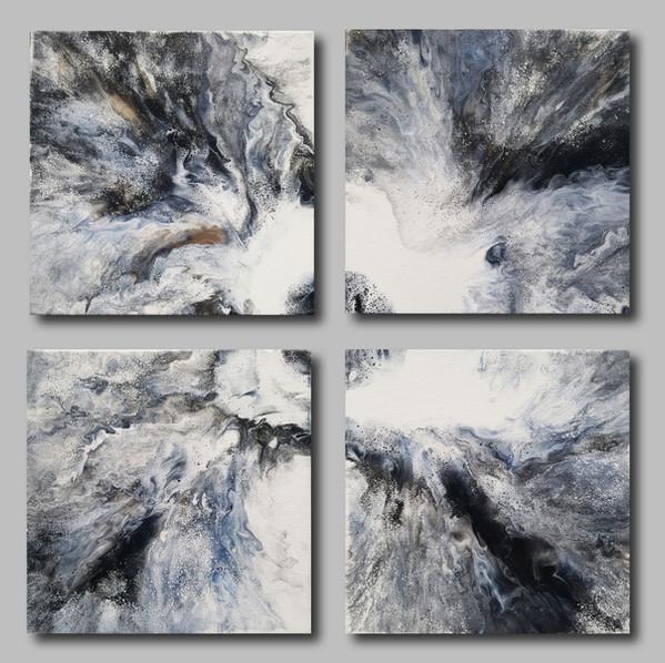 25-25 canvas Arctic Flow