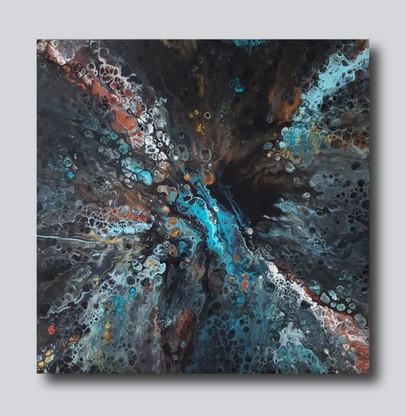50-50 canvas The Magic Turquoise