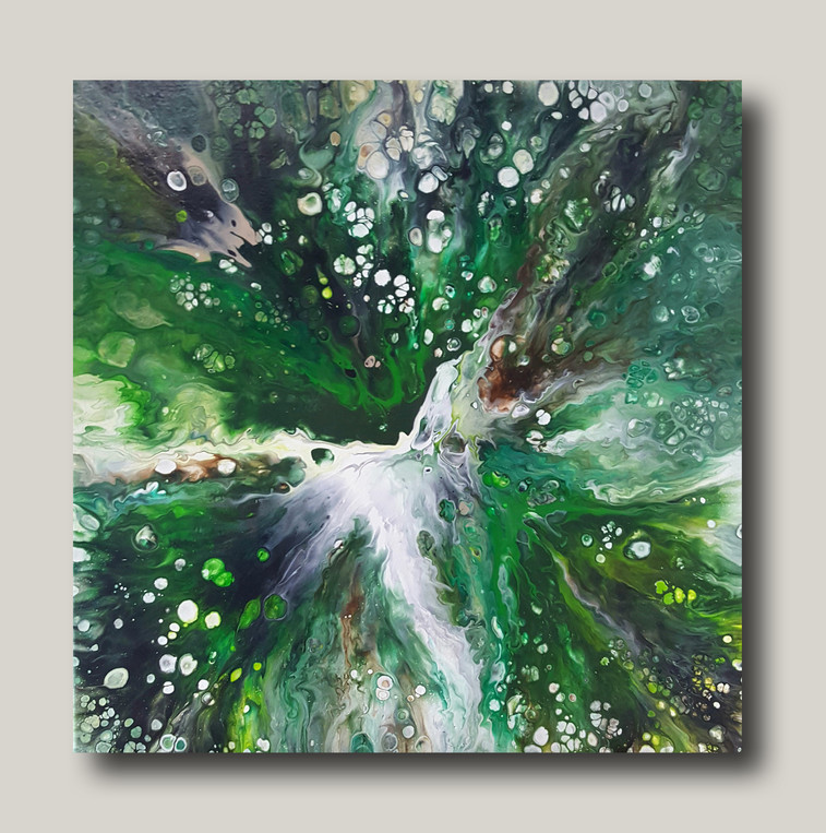 50-50 canvas Life-Giving Forest Stream