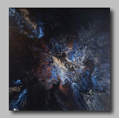 50-50 canvas Blazing Indigo