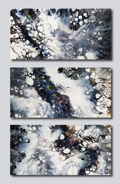 40-20 canvas Moonscape