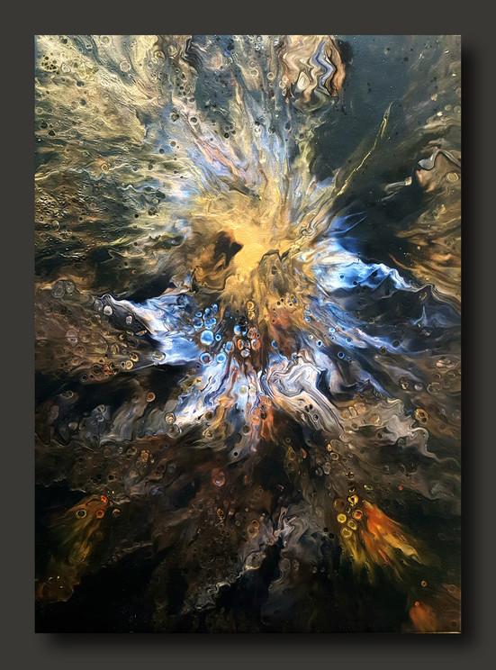 50-70 canvas Healing Vibration