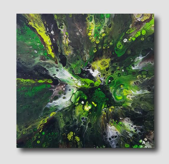 50-50 canvas Fangorn Forest