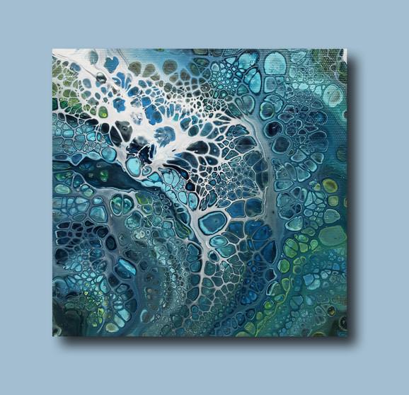 20-20 canvas Turquoise Breath