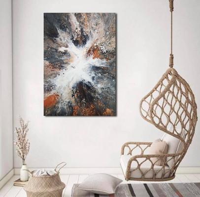 50-70 canvas Mythical Gaia