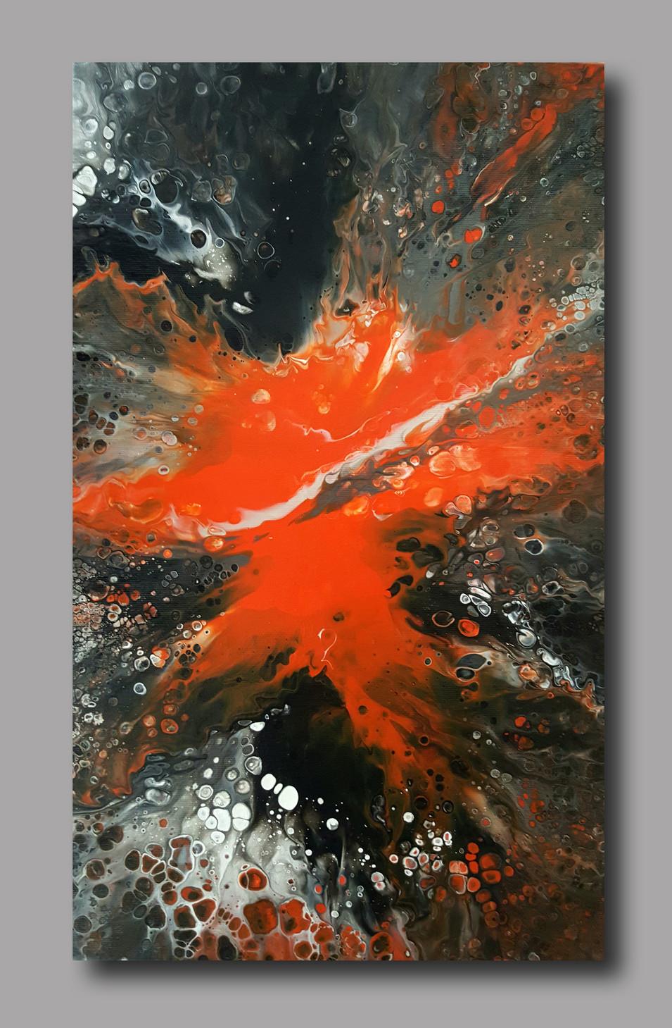 30-50 canvas Orange Blaze