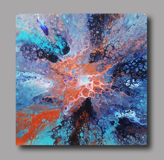 50-50 canvas Celestial Marvel