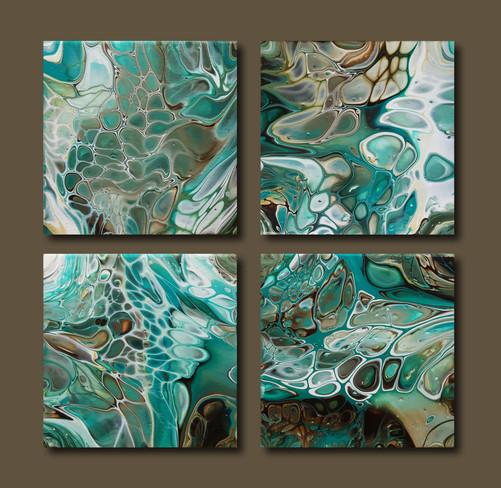 20-20 canvas The Blue Lagoon