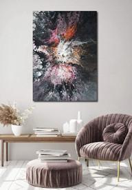 50-70 canvas The Birth of Unicorn
