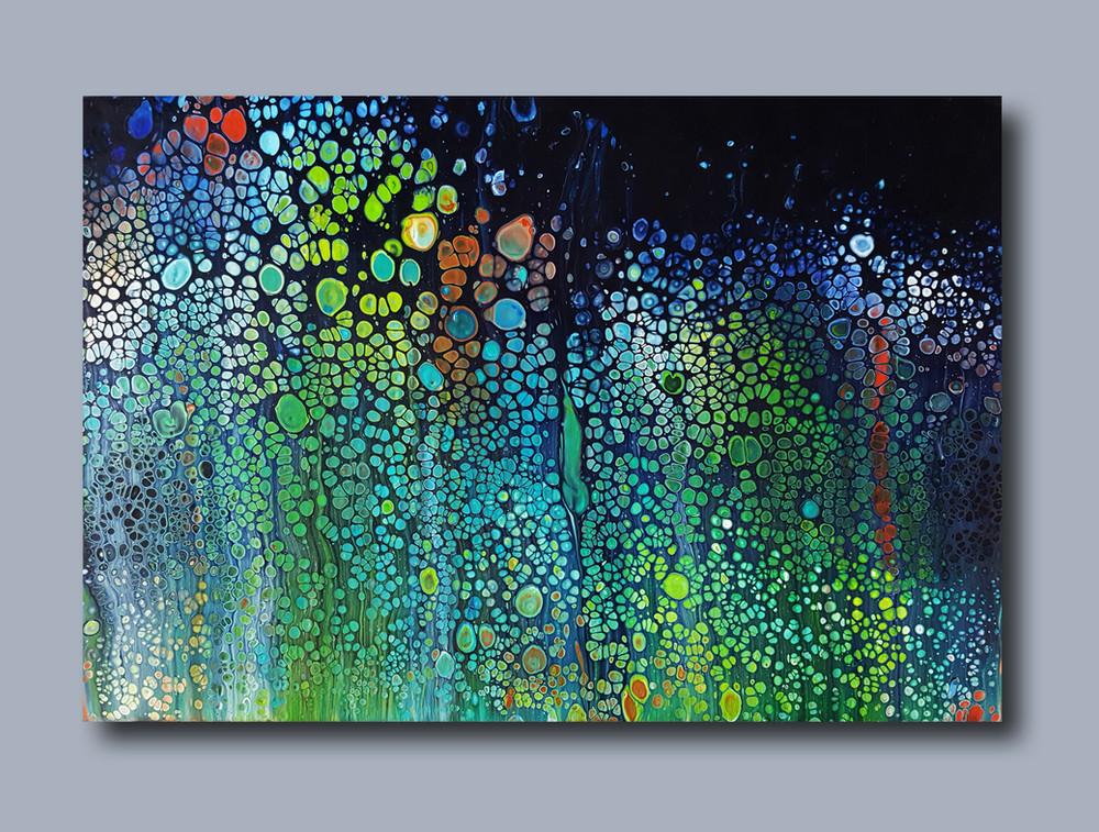 60-40 canvas Aquarium of Dreams