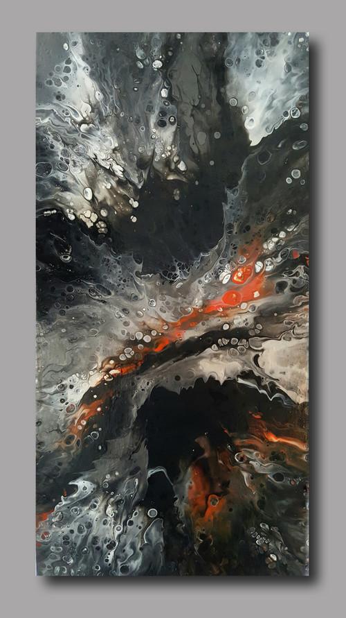30-60 canvas Birth of Galaxy I