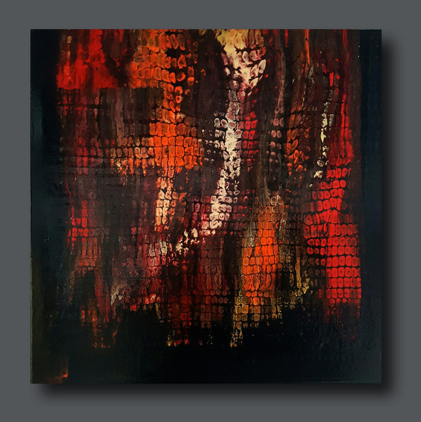 50-50 canvas Through the Glass