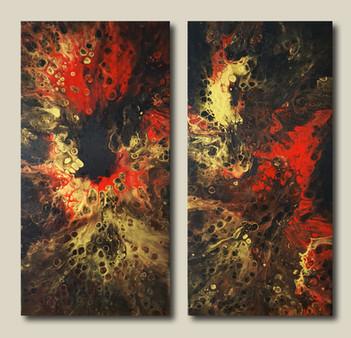 30-60 canvas Double Profusion