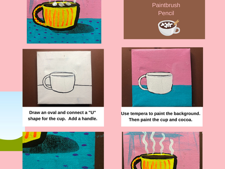 Hot Cocoa Painting