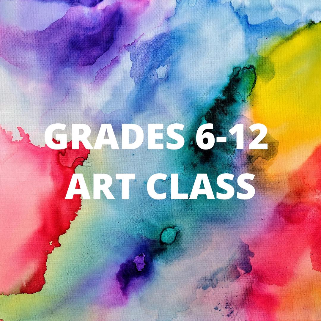 Middle/High School Homeschool Art