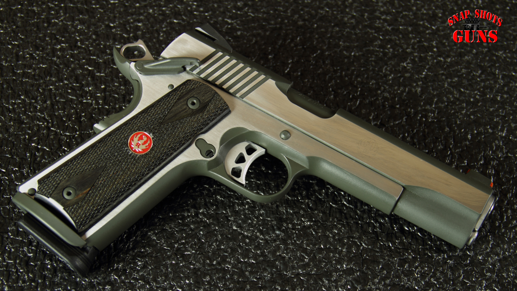 Tricked out Ruger SR1911