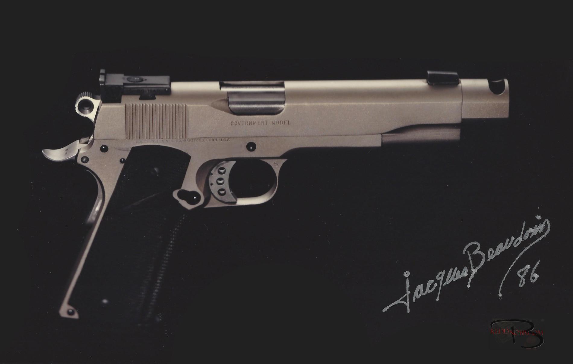 1986 custom colt 1911-a1 45 ACP