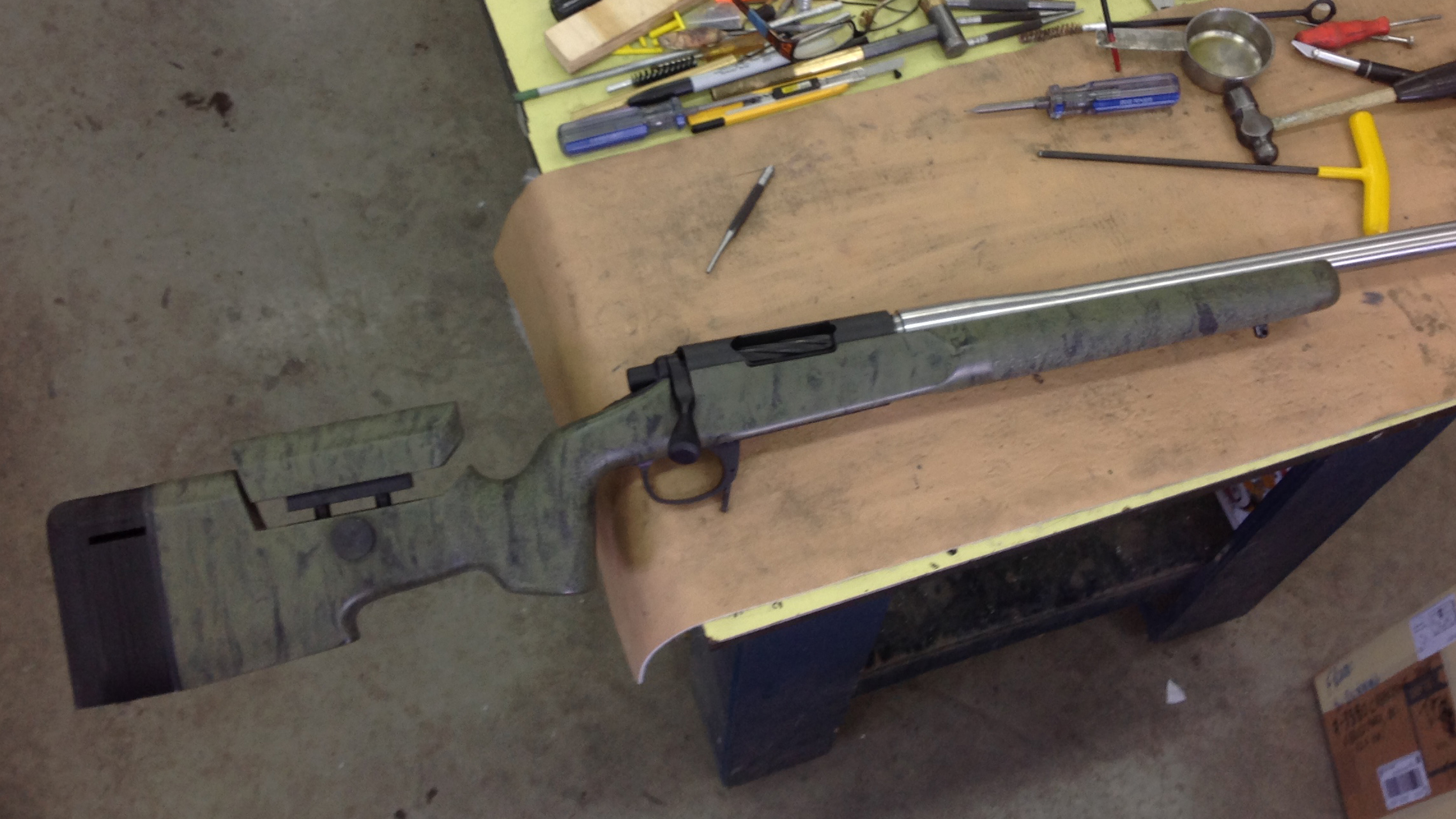 6mm creedmoor mcmillan a-5 ajustable