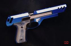 Auto firing tripod thug gun.