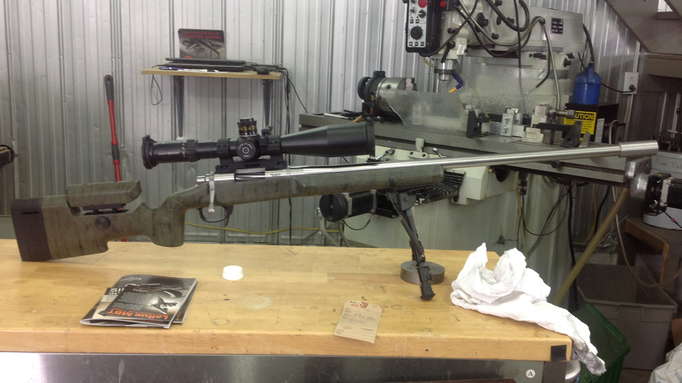6mm creedmoor borden first assembly