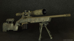 tricked out rem 700 sps tactical aac
