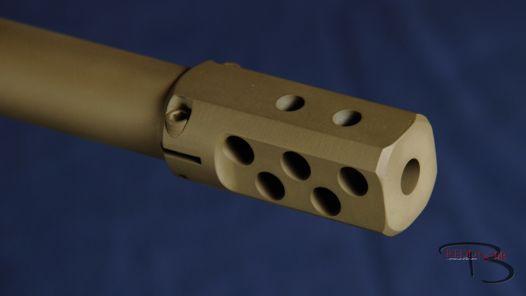 clamp on rifle compensator