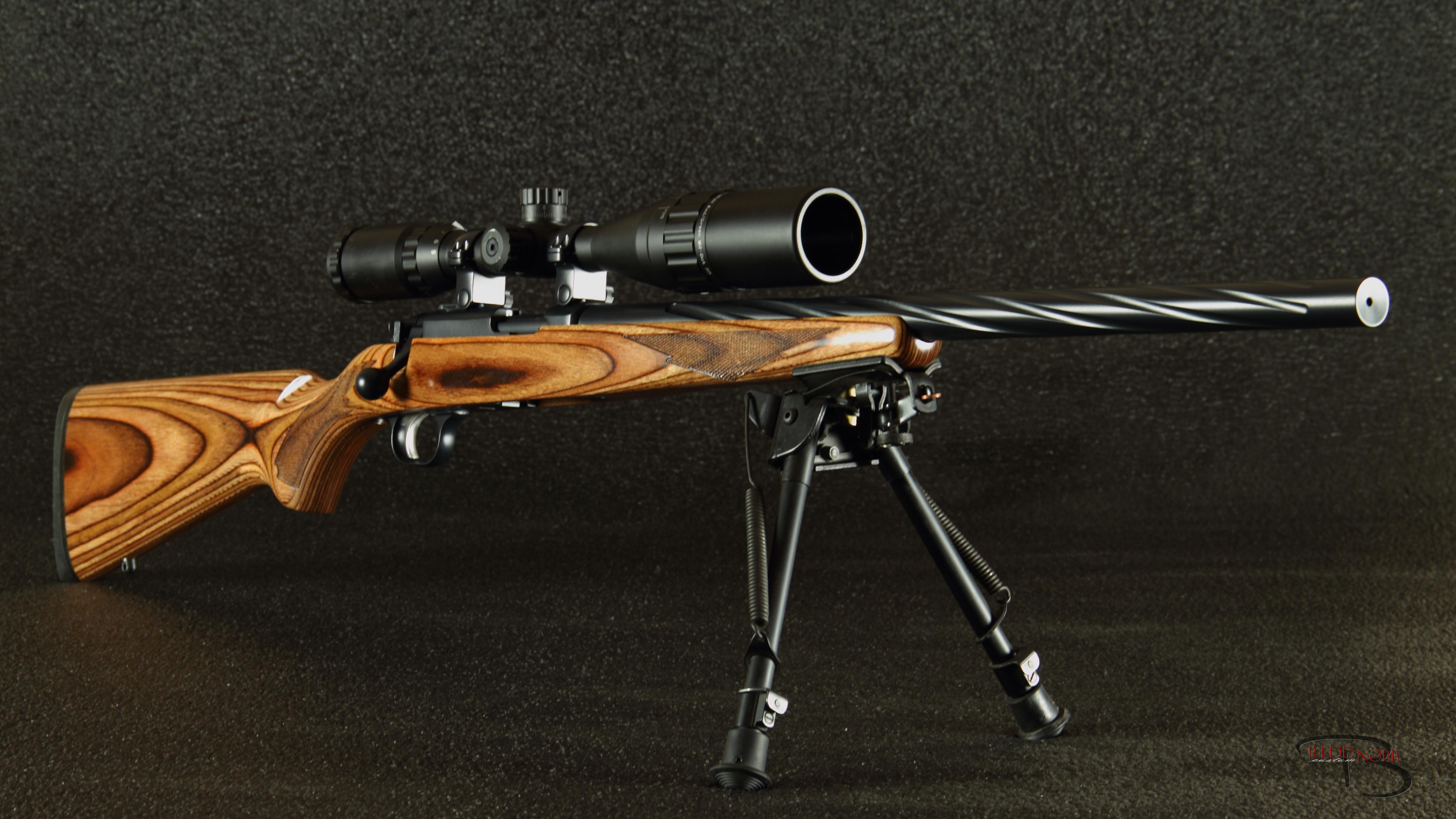custom ruger 77-22 17 HMR
