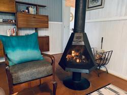 Honey Cottage fireplace