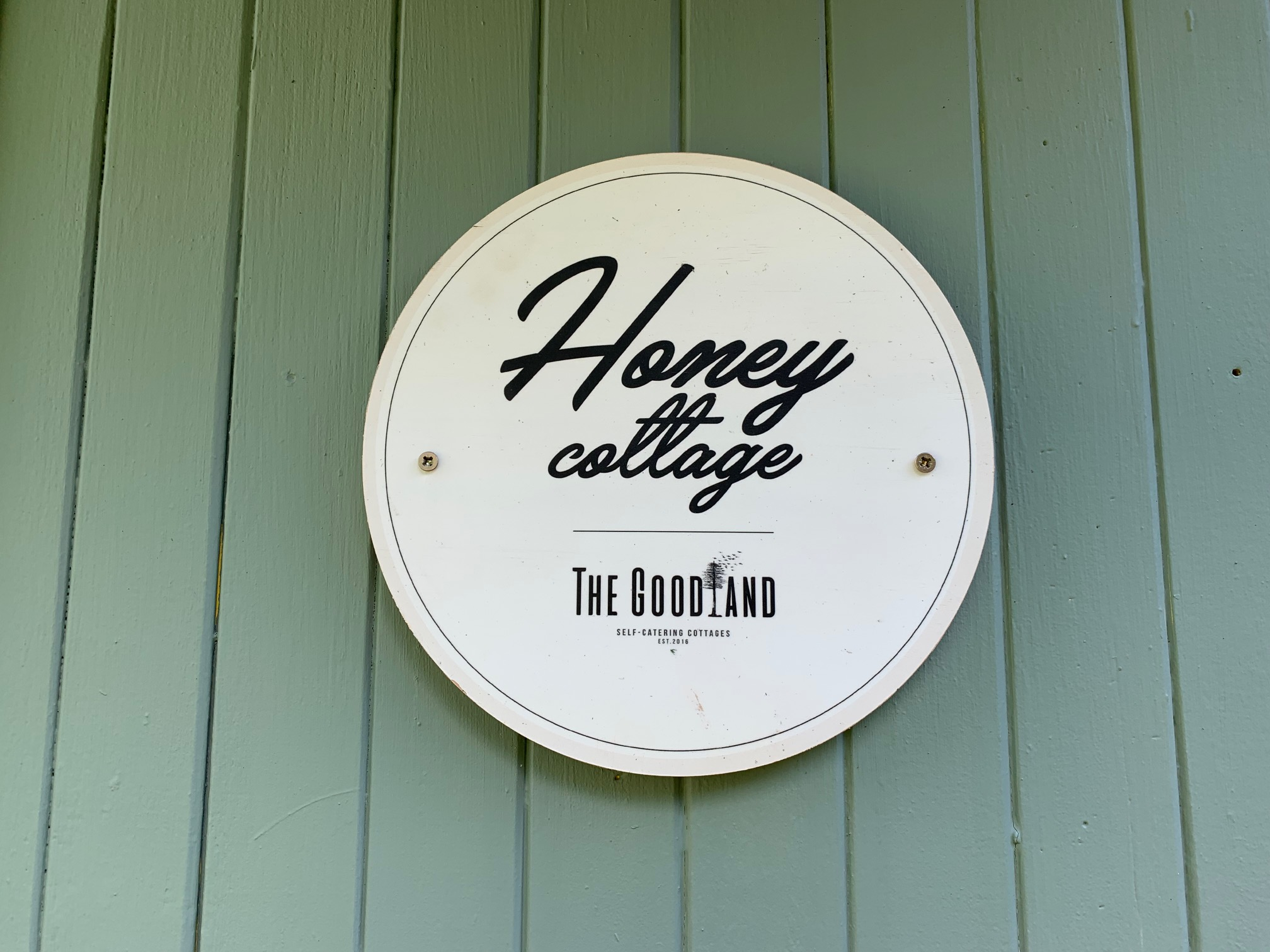Honey Sign