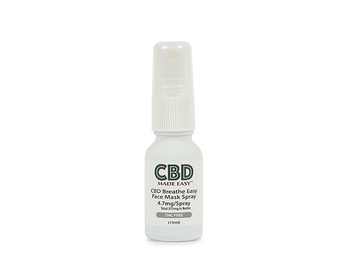 CBD Breathe Easy Face Mask Spray