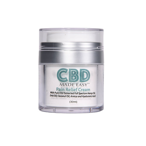 CBD Full Spectrum Pain Relief Cream