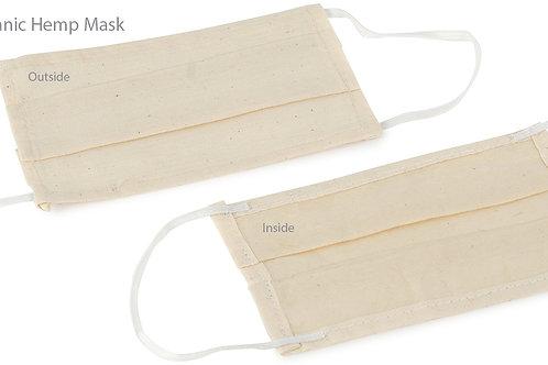 Two Layer Disposable Hemp Face Mask (3pk)
