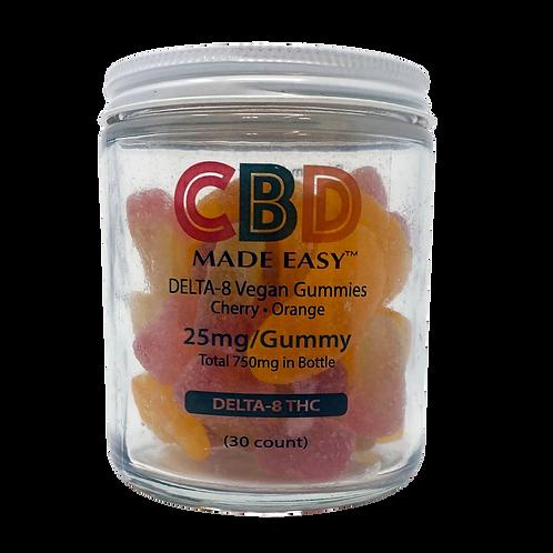 Vegan Delta-8 THC Infused Gummies