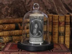 Louis XIV-cloche+livres