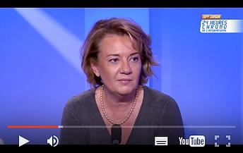 Véronique Pellerin Interviewer sur la chaine TV5