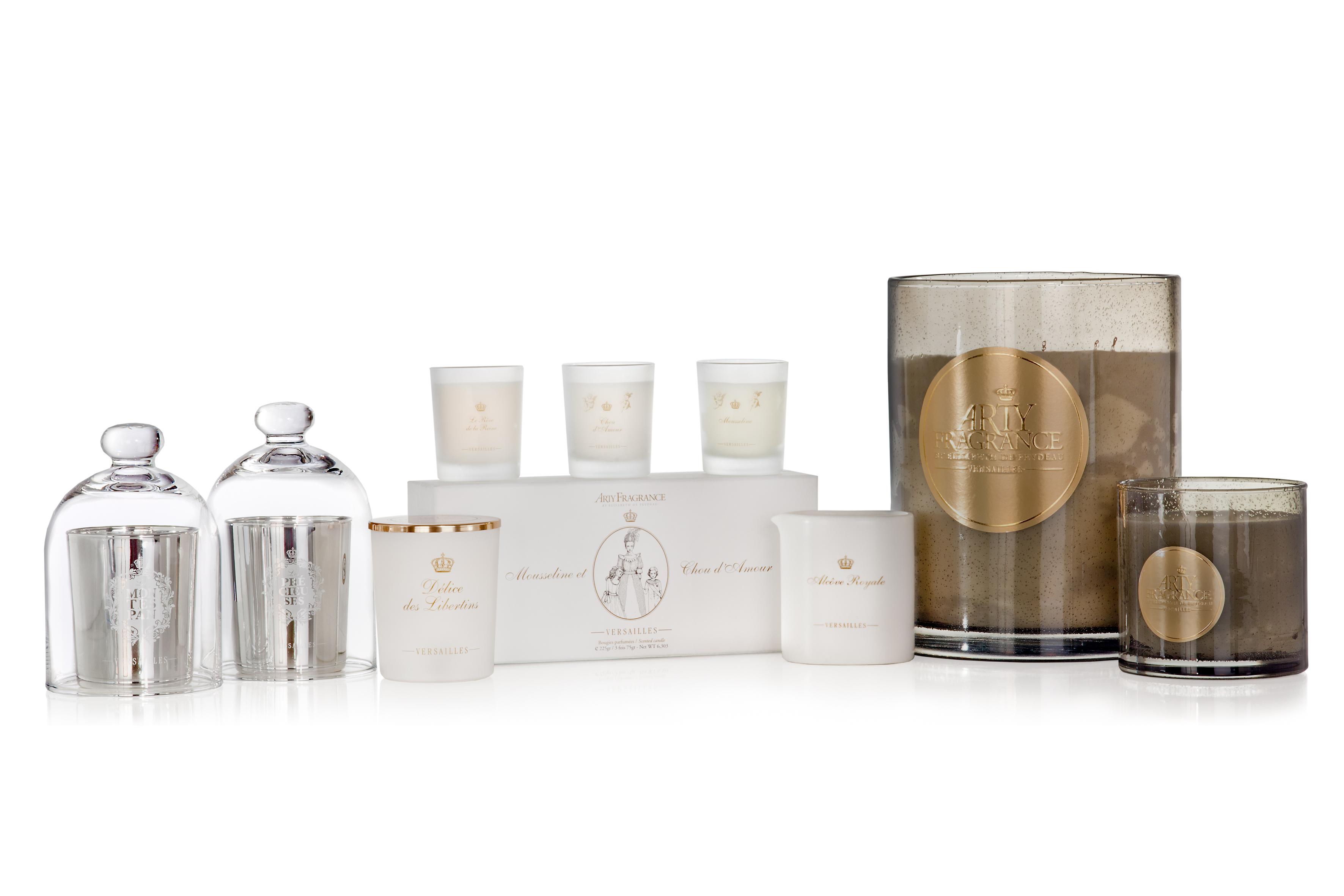Arty Fragrance Bougies Parfumées Et Parfums Inspirés De Versailles