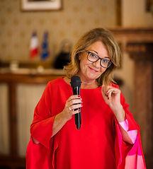 Vernonique Pellerin lors de la denière conférence enteprendre