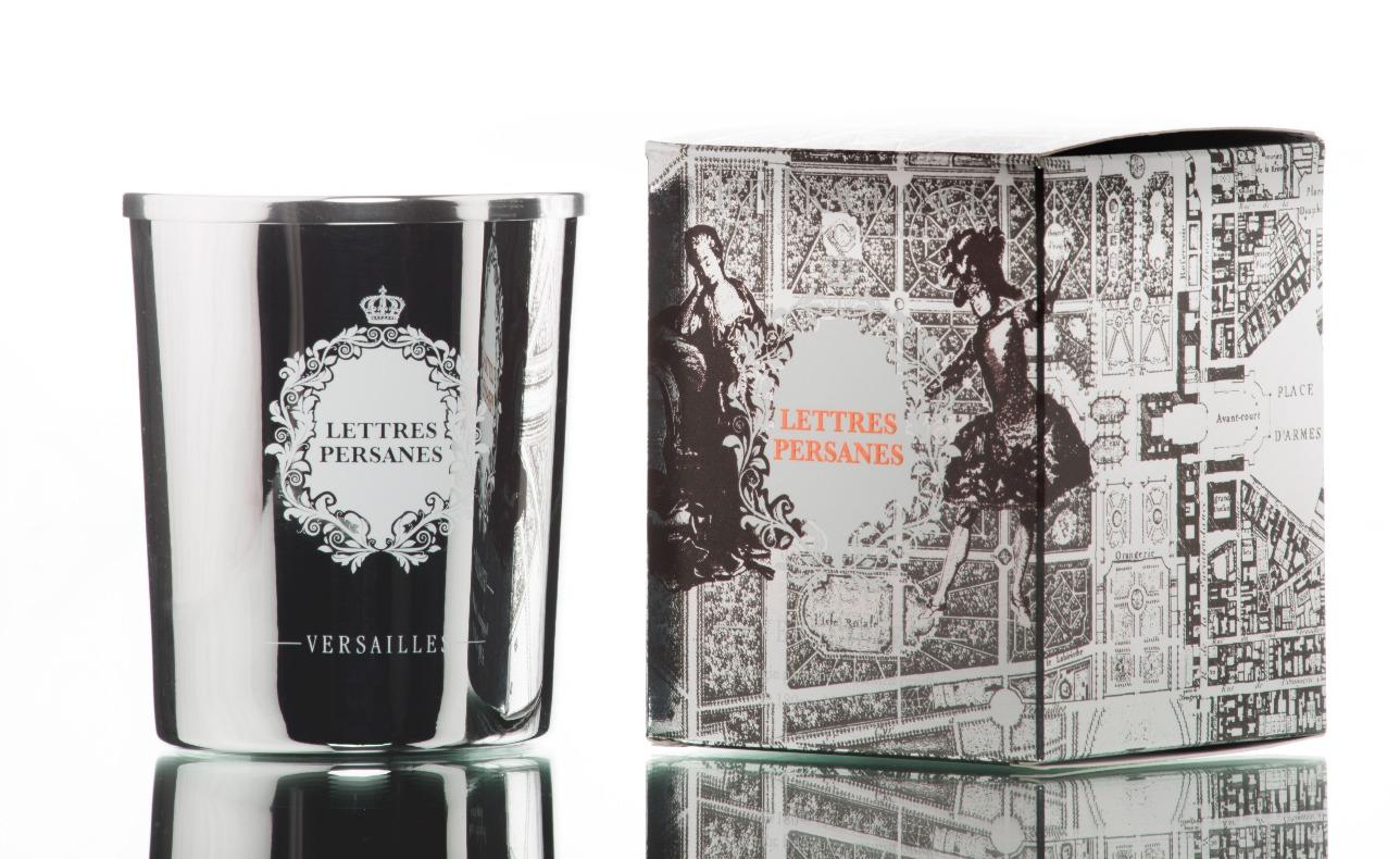 Bougies parfumées lettres persanes